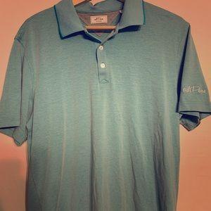 Adipure- adidas golf shirt. Sz medium. G